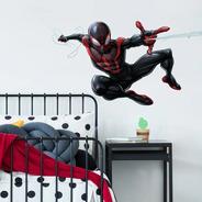 Adesivo De Parede Homem-aranha Miles Rmk3921gm  Reutilizável