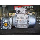Moto Redutor Romak Q30 1 X 30 C/ Motor Trifasico 1/4 Cv