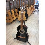 Fonseca 10 Guitarra Criolla Mini Negra Brillo