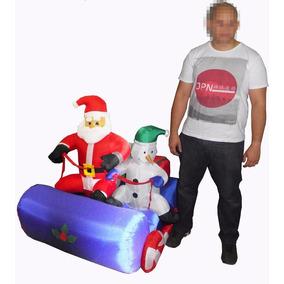 Papai Noel Boneco Inflavel Natalino De Neve Eletrico Natal