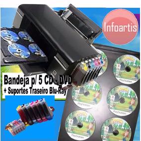 Impressora Epson P/ 5 Cd Dvd Dvd Blu-ray T50 Printable