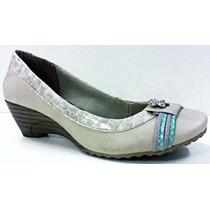 Sapato Ana Bela Baixa Frente Aberta Mississipi M8083