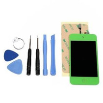 Ipod Touch 4 Gen Verde Lcd Digitalizador Cristal Asamblea De