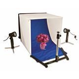 Foto Estudio Polaroidlight Tent Kit Con Tripie Y Luces