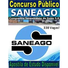 Apostila Agente Concurso Saneago 2018 - ( Comentada + Dvd )