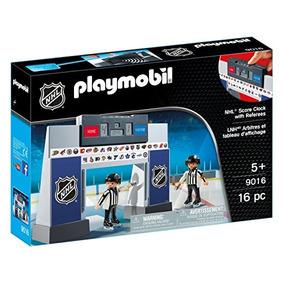 Playmobil Nhl Puntuación De Reloj Con Los Árbitros