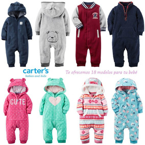 Monitos Carters Jumpsuit Hoodies Sherpa, Envio Gratis