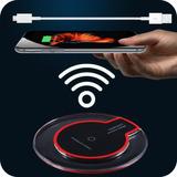 Qi Wireless Cargador Batería Pad Receptor Cargador Dock Para