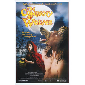 Poster Retro Filme B Company Of Wolves, Antigo Horror