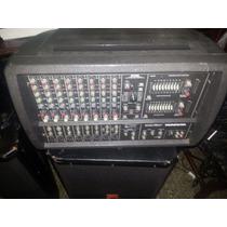 Consola Mackie Amplificada 1200 Watts 8 Canales En Perfecto