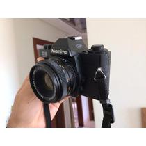 Câmera Analógica Mamiya Ze Quartz Super Nova Lente 50mm F2.0