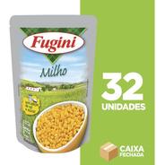 Milho Verde Em Conserva Fugini Sachê - 32 Unidades De 200 G