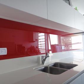 Cerámica De Vidrio 30 X 60 Cm Rojo Crisarte Ricardo Ospital