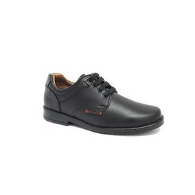 Zapato Escolar Negro De Niño Blasito 18-21.5