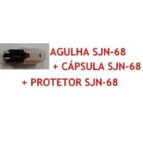 Ci Agulha Phono Stylus Para Toca Discos De Vinil Ion Ict05rs