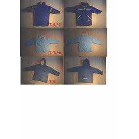 Lote De 6 Camperas Para Ninos/as - T4 Al T8