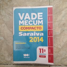 Livro Vade Mecum Compacto Saraiva 2014 11ª Ed.