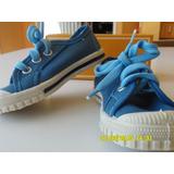 Zapatillas Pampero Celestes N° 23