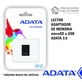 Lector Adaptador De Memorias Microsd A Usb Adata Original