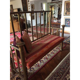 Hermoso Y Elegante Mueble De Bronce