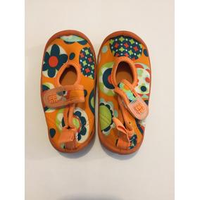 Chanclas Zapatos Para Playa Agua Niña Bebé Talla 12 Tuc Tuc