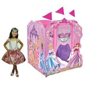 Playhut Disney Princess Super Playhouse Con Accesorios Prin