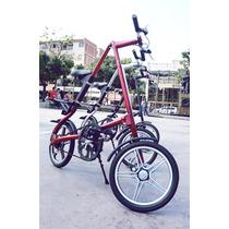 Bicicleta Plegable Tipo Strida Lt