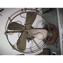 Ventilador Do Século 19 Marca Hunter Eletric 115 Anos