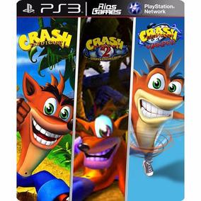 Crash Bandicoot 1, 2 E 3 Trilogia - Psn Ps3 Riosgames