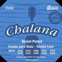 Encordoamento Viola Groove Chalana Gchni Tensão Leve
