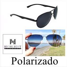 Óculos De Sol Masculino Esportivo 100% Lentes Polarizadas