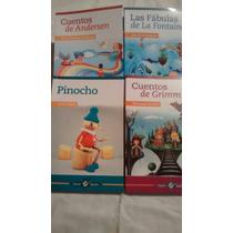 Las Fabulas De La Fontaine / Cuentos De Andersen 4 Libros