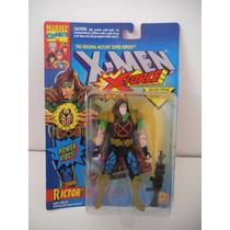 Rictor X-men X-force Toy Biz Vintage