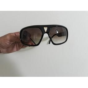 Óculos De Sol Evoke Fittipaldi - Black Shine Gold Brown Grad cd2cb2edf6