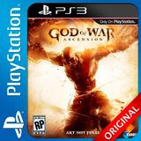 God Of War Ascension Ps3 Digital Elegi Reputacion (c1) Promo