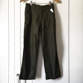 Calça Infantil Masculina Em Sarja - Tam 8