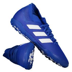 Chuteira adidas Nemeziz Tango 18.3 Tf Society Juvenil Azul por Futfanatics e0ee707287347
