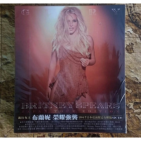 Oferta! Britney Spears - Glory Japan Tour Edition (duplo)