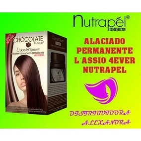 Alaciado Permante Chocolate Nutrapel 300g