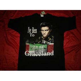 Playera Elvis Presley Graceland Antigua De 1992