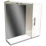 Botiquin Con Espejo Y Porta Lampara 50 Cms Ideal Baño Mf Sho