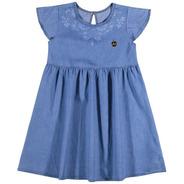 Vestido Infantil Jeans Elian