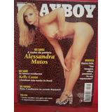 Revista Playboy Alessandra Matos