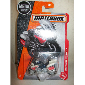 Matchbox 2016 Motocicleta Bmw R1200 Rtv Police
