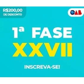 Curso Xxvii 1ª Fase 2018.3 Oab(27) Ceisc + (26)