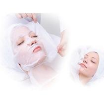Máscara Descartável Para Limpeza Facial Em Tnt 100un