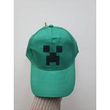 Gorra Minecraft Creeper Tela Ajustable Abrojo Todas Edad 1f23c3b21d4