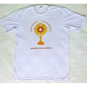 Camiseta Ministro Da Eucaristia Kit Com 3 Camisetas