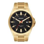Relógio Orient Masculino Dourado Mgss1188 P2kx Original