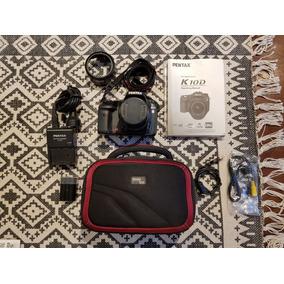 Camara Reflex Digital Pentax K10 D + Filtro Uv